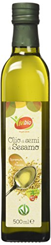 Vivibio Olio Di Semi Di Sesamo Bio, 500 ml