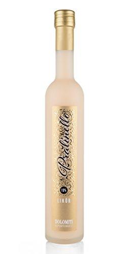 DOLOMITI Pralinello 15% vol.   cremiger Pralinen Likör   feiner Pralinen Cream mit frischer Alpen-Sahne (1 x 0.5 L)
