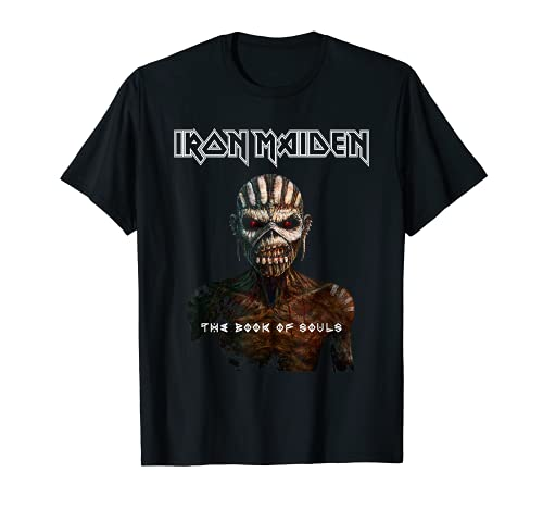 Iron Maiden - Book Of Souls Maglietta