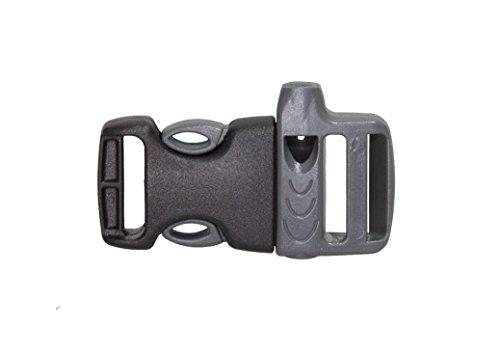 Tashev Rucksack Ersatzteile DURAFLEX® Karabinerhaken Leiterschnallen Steckverschluss Seitenschnallen Bandenklammer Nexus Signalpfeife (Signalpfeife, 20mm)