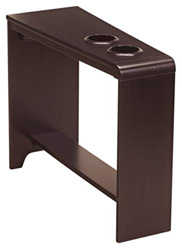 Signature Design by Ashley Carlyle Chair Side End Table Almost Black