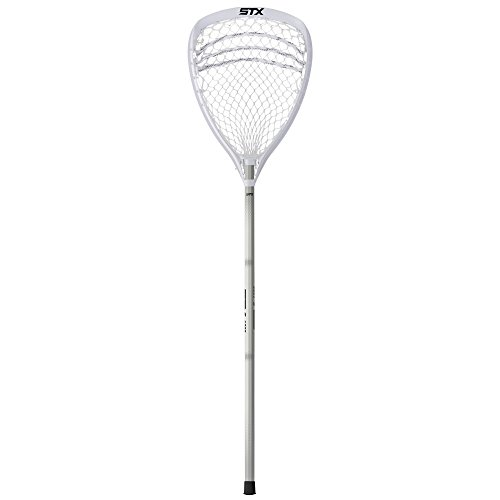STX Lacrosse Shield 100 Goalie Complete Stick White/White/Platinum