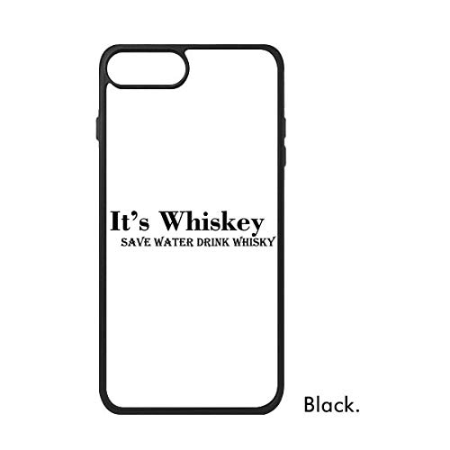 DIYthinker It 'S Whiskey Save Water Drink Whiskey Phonecase Apple Cover Case Gift, iPhone 7 Plus Case