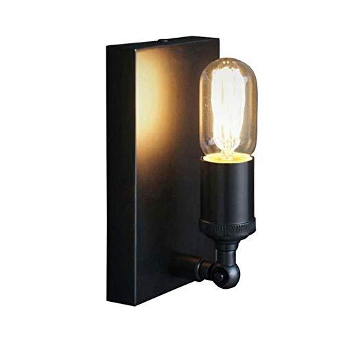 Lámpara de Pared Con Iluminación Decorativa Interiores Retro lámpara de pared, viento industrial Loft Art Hierro, aplique Nostálgico de iluminación, Balcón Corredor Corredor industria del arte Pequeña