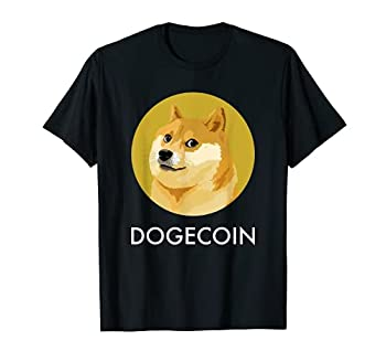 Dogecoin Meme Coin Miner Crypto Block Chain Cryptocurrency T-Shirt
