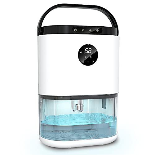 78 oz Dehumidifier Auto Defrost Dehumidifier Ultra Quiet Dehumidifier with Timer for Closet Bedroom Bathroom Garage RV (500 sq ft)