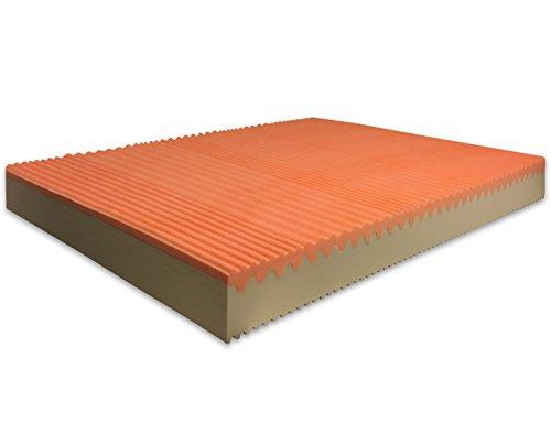 Marcapiuma Matratze für Doppelbett Memory Bio Soia 160 x 205 Höhe 20 cm - Sunrise...