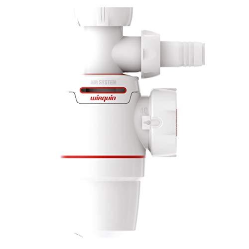 Wirquin Pro sifón de fregadero Neo Air diámetro 40mm, con toma lavadora