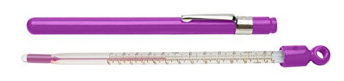 SP Bel-Art, H-B DURAC Plus Pocket Liquid-In-Glass Laboratory Thermometer; 20 to 120F, Closed Plastic...