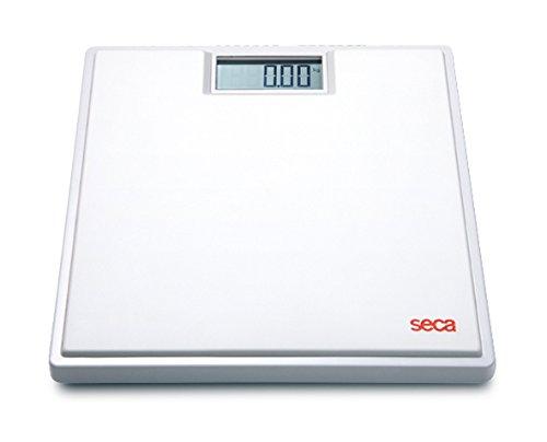 Seca Clara - Báscula digital, hasta 150 kg, color blanco