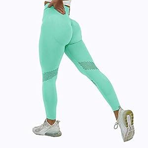 U/A Pantalones de Yoga sin Costuras Fitness Leggings Deportivos Leggings de Levantamiento de Cadera Ropa Deportiva Correr