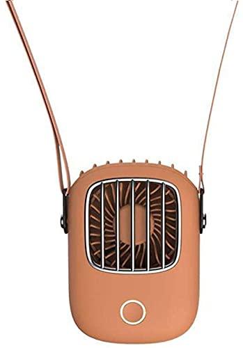 Ventilador de cuello de viento Ventilador de cuello Ventiladores portátiles 5V refrigerador de aire USB Ventilador recargable Pequeño Ventilador eléctrico de la computadora de mano Enfriamiento silenc