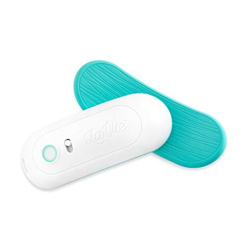 LaVie Almohadillas de masaje de lactancia cálida, soporte de lactancia para conductos obstruidos, mastitis, mejorar el flujo de leche, congestión, grado médico Teal