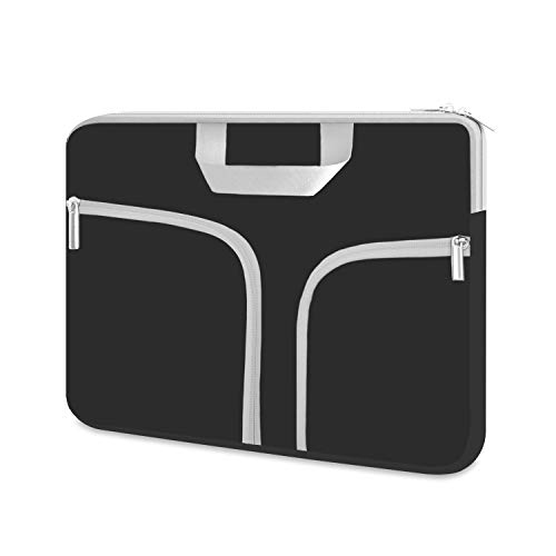 """HESTECH 16""""-17.3 inch Laptop Sleeve Bag Case Cover with Pocket,Compatible with Acer Predator Helios 300 Gaming 15.6/Dell Inspiron/MSI/HP Pavilion/Alienware 17/HP Omen,Black"""