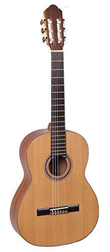 Hora Guitarra Clásica y Gig Bolsa |SM500| Tamaño Real | Tapa de Abeto Sólido | Eucalytus Back & Lados