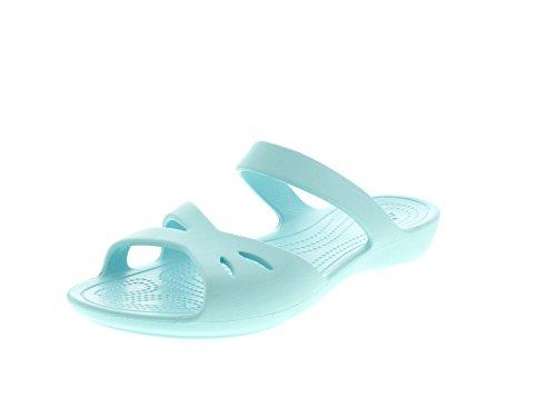 Crocs - Kelli OL Sandal - Ice Blue, Taglia:42/43 EU