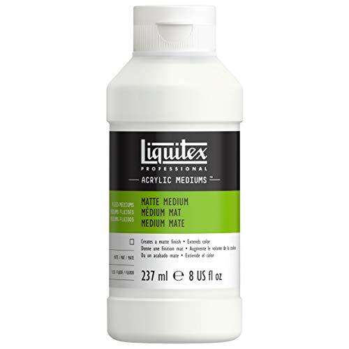 Liquitex 5108 Professional mattes Medium für Acrylfarben, verleiht Farben eine seidenmatte Oberfläche und reduziert den Glanz, flüssig - 237ml Flasche