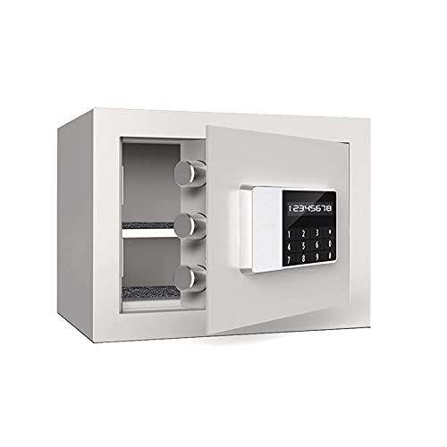 Gabinete Cajas fuertes pequeñas, cajas de seguridad, cajas de seguridad, cajas de seguridad, cajas de seguridad cajas de caja, cajas de caja en casa, caja fuerte, caja fuerte, 35x25x25cm ( Color : B )