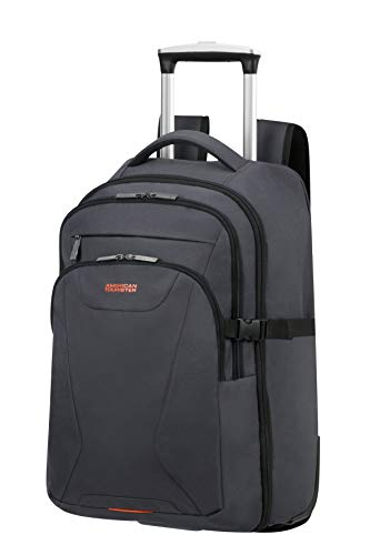 American Tourister At Work Zaino con ruote M (15.6'), Grigio (Grey/Orange)