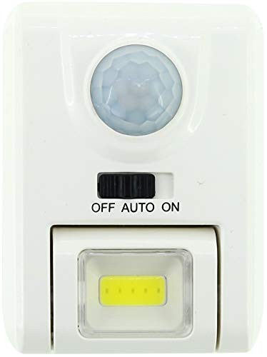 センサーナイトライト スクエア 人感センサー 照明 電池式 ホワイト