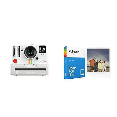 Oferta de Polaroid Originals 9015 OneStep + Cámara con Impresión Instantánea, Color Blanco + Película instantánea Color para 600 y i-Type