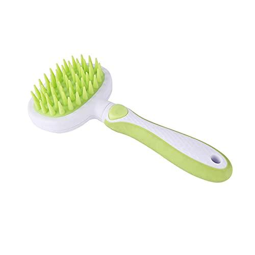 Kudiro Cepillo de pelo para gatos Cepillo de aseo de mascotas Cepillo de pelo para perros Peine para mascotas ayuda a que el cabello crezca de forma saludable y evite enfermedades de la piel (