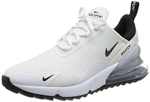 Nike Air MAX 270 G, Zapatillas para Correr de Carretera Unisex Adulto, Color Blanco y Negro, 40 EU