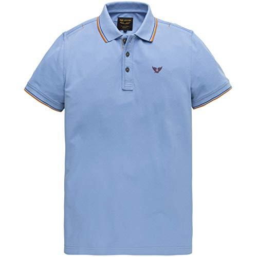 PME Legend Herren Poloshirt Größe L Blau (blau)