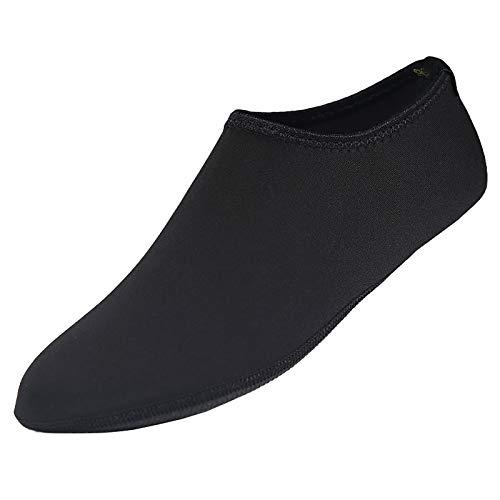 Calcetines de agua para hombres y mujeres Barefoot Speed Dry para yoga Negro 3XL
