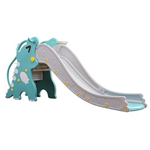 Adesign Diapositiva plástica for niños, Kids Fun, magnífico Diapositivas, Pequeño Juguete Slide Escalada Cubierta Juguetes de combinación for niños