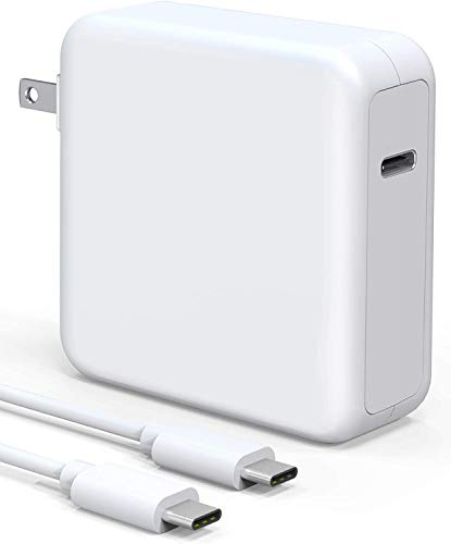 96W USB C Charger Power Adapter, Compatible with MacBook Pro & Air Fast Charger, Replacement Type c Charger PD Power Delivery Fast Charging for MacBook Pro 13' 15' 16' Thunder Bolt 3 Power Supply