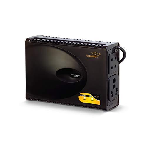 """V-Guard Crystal Plus Supreme TV Voltage Stabilizer for 140 cm (55"""") TV + Set top Box + Home Theatre System (Working Range: 90-290V; 3 A)"""