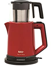 Fakir Tea N More Cam Demlikli Çay Makinesi, 1.8 lt