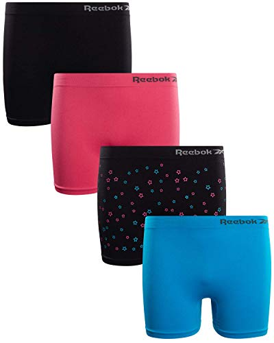 Reebok Girls Active Seamless Cartwheel Shorts (4 Pack)