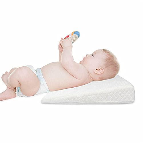 almohada plagiocefalia,cojin mimos,almohadas para reflujo,cojin infantil,suave,Almohada para dormir para bebé recién nacido, cojín antirreflujo para cuña de posicionamiento para dormir
