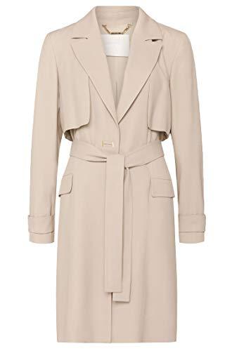 Hugo Boss 50307180 CAPEIPA 50 - Abrigo largo para mujer, color beige