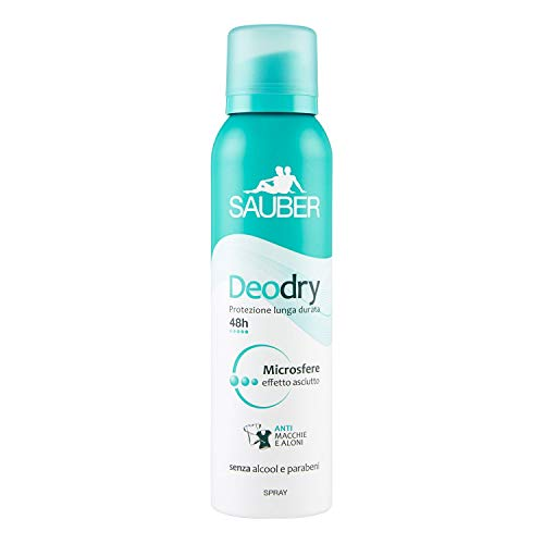 Sauber Deodorante Deodry Spray, 150ml