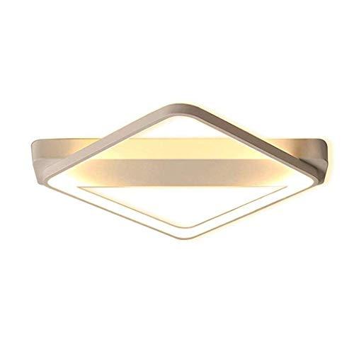 SPNEC Techo del LED de la lámpara, la lámpara de techo dormitorio lámpara moderna iluminación de techo de aluminio de acrílico cuadrada Lámpara de oficina de diseño de luminarias decorativas interiore