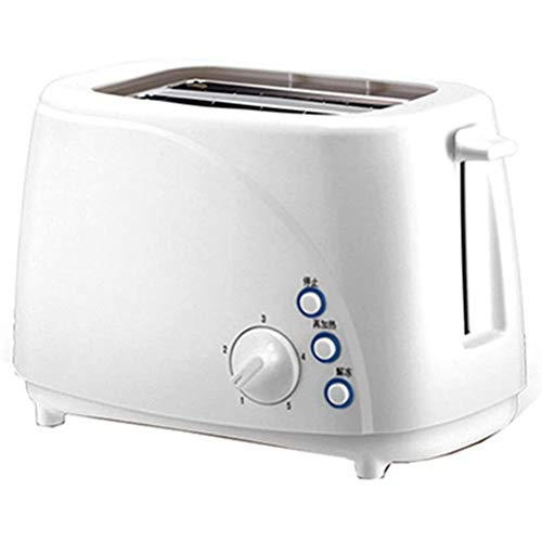 Review VIVICL Automatic Bread Machine Stainless Steel 2 Slice Family Toaster with Defrost, Reheat, C...