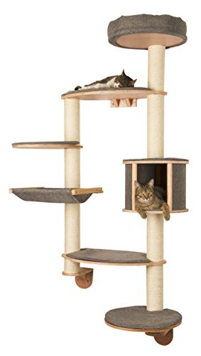 Kerbl Cat Tree Dolomit Tofana XL Wall Mounted Grey