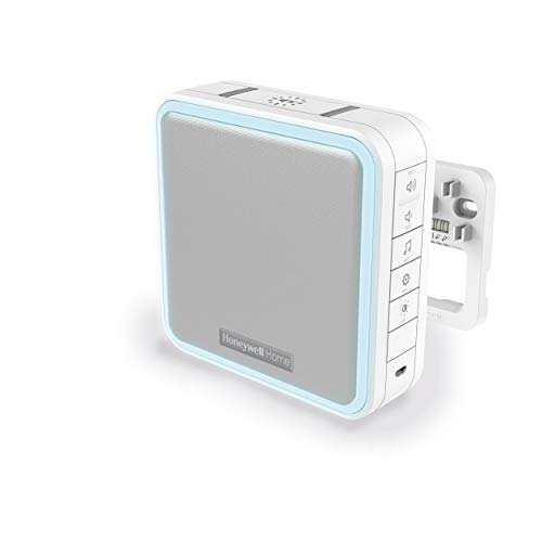 Honeywell Home DW915S Serie 9, timbre portátil, inalámbrico o con cable, con LED