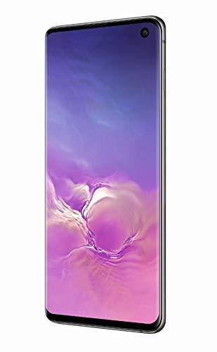 """Samsung Galaxy S10 Smartphone, 128GB, Display 6.1"""", Dual SIM, Nero (Prism Black) [Altra Versione Europea] (Ricondizionato)"""