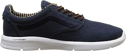 Vans Unisex-Erwachsene Iso 1.5 + Low-Top, Blau ((Waxed C&l) Dress Blues/White), 36 EU
