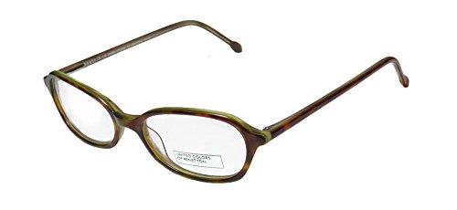 United Colors Of Benetton 348 For Ladies/Women Designer Full-Rim Shape Simple & Elegant Trendy Eyeglasses/Spectacles (47-16-135, Tortoise Mint)