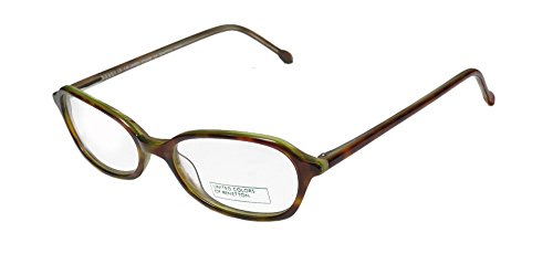 United Colors Of Benetton 348 For Ladies/Women Designer Full-Rim Shape Simple & Elegant Trendy Eyeglasses/Spectacles (47-16-135, Tortoise Mint)