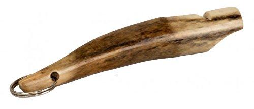 Eurohunt Hundepfeife Hirschhorn ca. 11cm