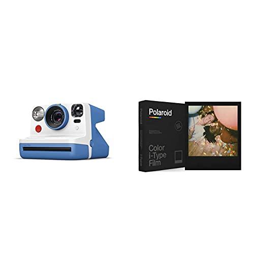 Oferta de Polaroid - 9030 - Polaroid Now Cámara instantánea i-Type Azul + Película Instantánea