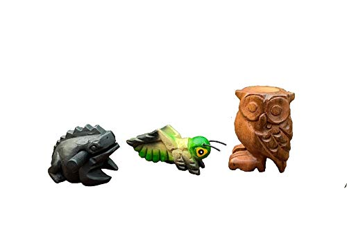 3 Piece Wooden Percussion Animals