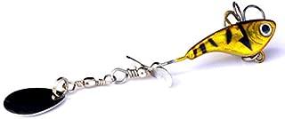 Forwei 5 PCS T-Artificial Soft Bait Set Lumineux Swimbait Crevette Leurre De P/êche avec Crochets De P/êche Sattaquer Eau Douce//Eau Sal/ée