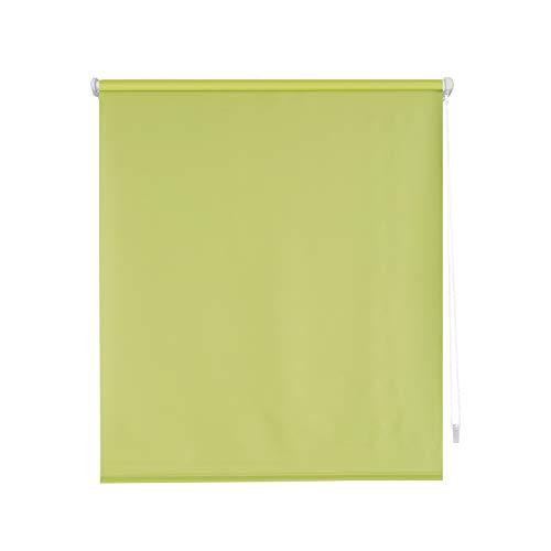 Blindecor Liso BK - Zeus Sin Herramientas, Estor enrollable 100{38efeef8796ae95863f38325a07ff54dc37f6f1eafdf9e3c16094769a63ee7b9} Opaco, color Verde (Pistacho), 52 X 180 cm (ancho x alto)